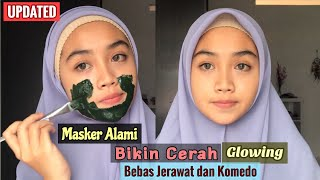 Updated | Masker Alami Bikin Cerah Dan Bebas Jerawat