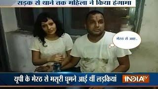 Drunk Girl Creates Ruckus Inside Police Station in Dehradun