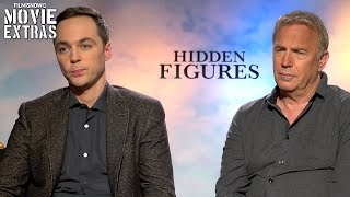 Hidden Figures (2017) Kevin Costner and Jim Parsons talk about their experience making the movie