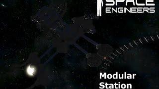 Space Engineers Modular Station