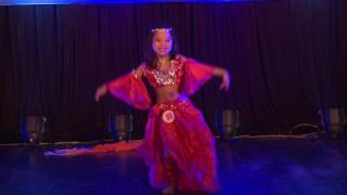 Unlimited Bellydance Competition 2017 - MS 08 Ta Ha Phuong Linh  2nd place Kid A solo
