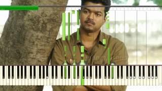Aathi Ena Nee - Kaththi - Piano Cover