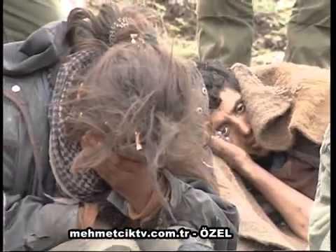Operasyonda ele geçirilen pkk'lı Teröristler