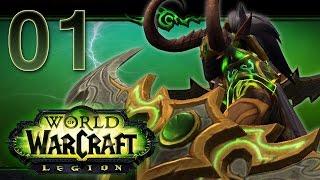 World of Warcraft: Legion Gameplay | Demon Hunter | 98-110 | Part 1