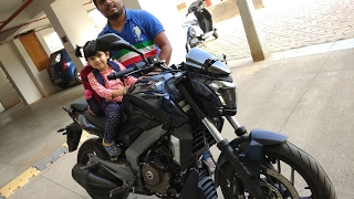 Taking Delivery of New Bajaj Dominar 400 - Initial Riding experience to Home.