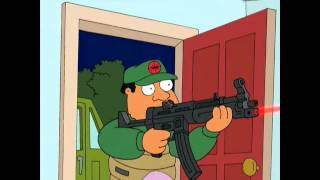 Family Guy - Flea Extermination Scene