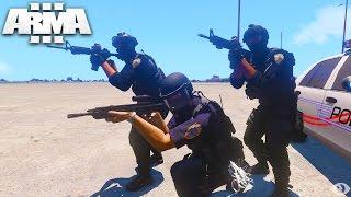 ULTIMATE POLICE SIMULATOR! Arma 3 Life Bounty Hunters (Arma 3 Gameplay)
