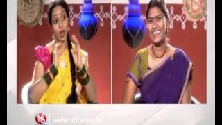 Teenmaar Racha Ramulamma Interview With Folk Singer Vijaya || V6 News