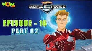 Motu Patlu presents Hot Wheels Battle Force 5 - Glitchin - Episode 16-P2- in Hindi