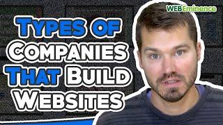 Companies That Build Websites - Freelancers, Local Web Designers, Agencies, and Website Builders!!