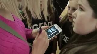Cursed Diamond Book Launch at waterstones East Kilbride Video