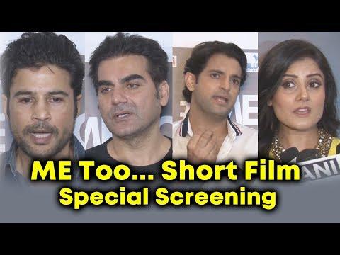 Xxx Mp4 Arbaaz Khan Rajeev Khandelwal At ME Too Short Film Special Screening 3gp Sex