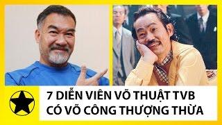 7 Diễn Viên TVB Có Võ Công Thượng Thừa Ít Ai Biết