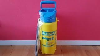 Gloria Prima 5 Typ 39 TE Drucksprühgerät 5 Liter / 3 bar, Compression Sprayer - [Unboxing! 4K]