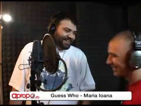 Live Guess Who & Grasu XXL Maria Ioana Flori Ilegale