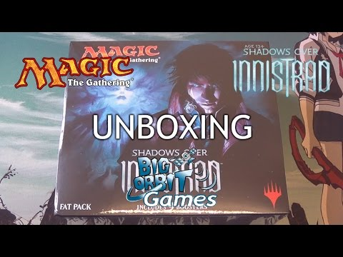 Magic The Gathering: Shadows Over Innistrad Fat Pack Unboxing