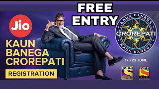 How to participate in KBC-9 2017 free by Jio users