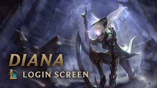 Diana, Scorn of the Moon | Login Screen - League of Legends