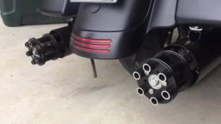 TailGunner Pipes on my Harley Davidson Street Glide FLHX