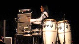 Dave Weckl and Shiela E paying a battle @ Tessenderlo 2010