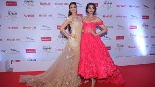 HOTNESS Alert! Sonam Kapoor & Jacqueline Fernandez at the Filmfare Glamour and Style Awards