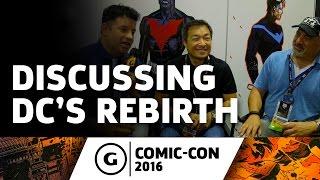 DC Comics Co-Publishers Discuss