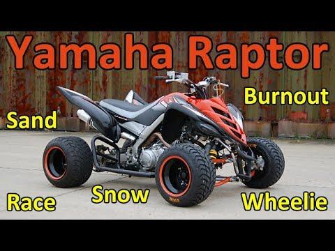 Yamaha RAPTOR Fantastic World s ATV QUAD