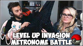 METRONOME BATTLE w/ ShadyPenguinn and Shady Lady!  LootCrate's Level Up Invasion!