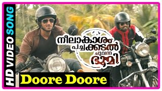 Neelakasham Pachakadal Chuvanna Bhoomi Movie   Songs   Doore Doore song   Dulquer   Sunny