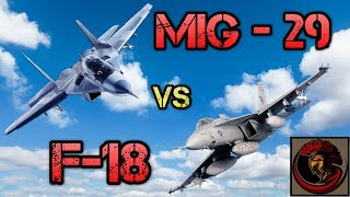 MiG-29 Fulcrum vs F-18 Hornet - Naval Air Power