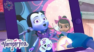 Bat Chat: Ghoul Girls on Tour Part 1 | Vampirina | Disney Junior