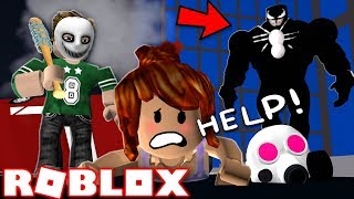 BECOMING VENOM FOR THE PURGE IN ROBLOX | Roblox - The Purge (Halloween)
