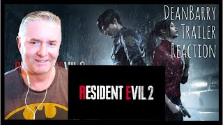 Resident Evil 2 Remake -Official Story Trailer (TGS 2018) REACTION