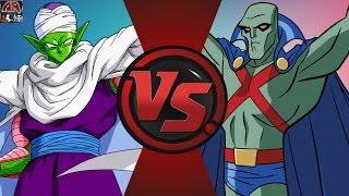 PICCOLO vs MARTIAN MANHUNTER! (Dragon Ball Z vs DC) Cartoon Fight Club Episode 119