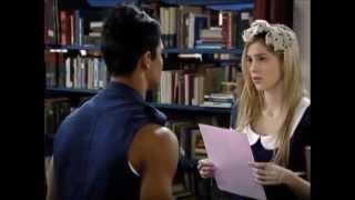 Rebelde - Alice lê para Pedro carta com pedido de desculpas
