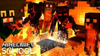 Minecraft School - THE CLASS GO TO HELL!?
