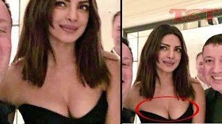 Priyanka Chopra Flaunts Deep Cleavage At Pre Oscar Party - Checkout!