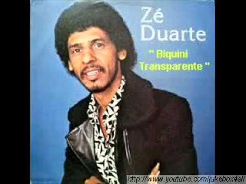 Zé Duarte Biquini Transparente