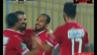 وليد سليمان يسجل هدف الأهلي الثاني في مرمى أسوان
