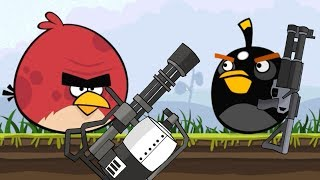 Angry Birds Animation: TOTAL MAYHEM!