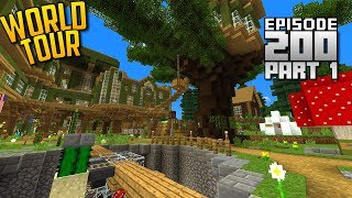 Let's Play Minecraft PE - Ep.200 : World Tour + Download (Part 1)