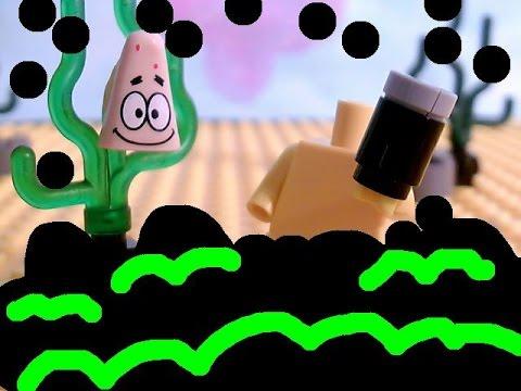 lego spongebob pranks a lot