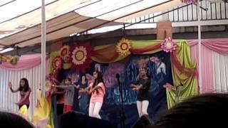 The dance performance