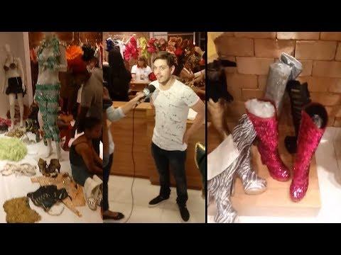 Joelma faz Bazar com seus figurinos veja Tudo