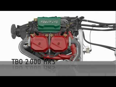 Rotax 912 iS 3D animation