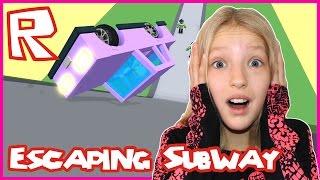 Escape The Subway Obby / Roblox