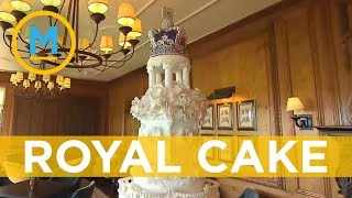 Serious planning went into this wedding cake fit for a royal | Your Morning