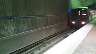 Riding Atlanta MARTA train underground