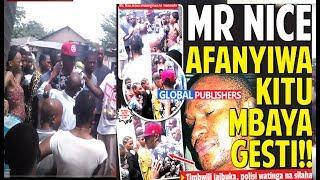 Mr. Nice Afanyiwa Kitu Mbaya Gesti Uwanja wa Fisi Manzese!