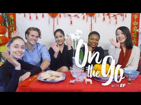 On the go with EF #22 – Chinese New Year with Maria, Filip, Elenor, Kendra & Corrine